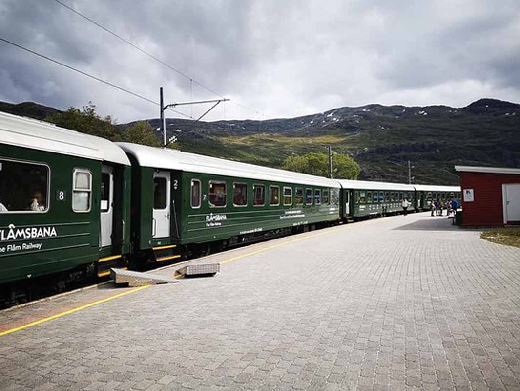 The Flam Railway at Norway | Prettiest railway trips in the world