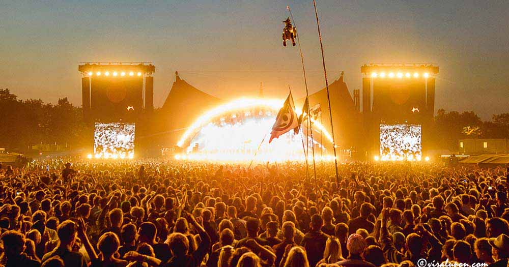 Another country music festival-Roskilde Festival