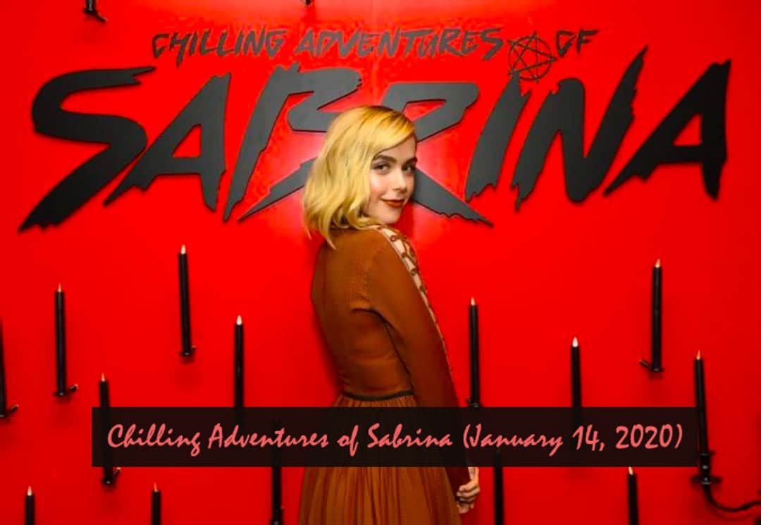 Chilling Adventures of Sabrina | upcoming netflix TV series 2020