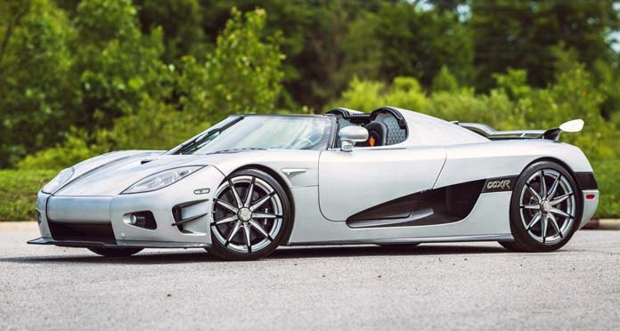 The Top 10 Most Expensive Cars In The World