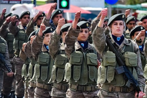 10 Most Attractive Female Armed Forces in the World